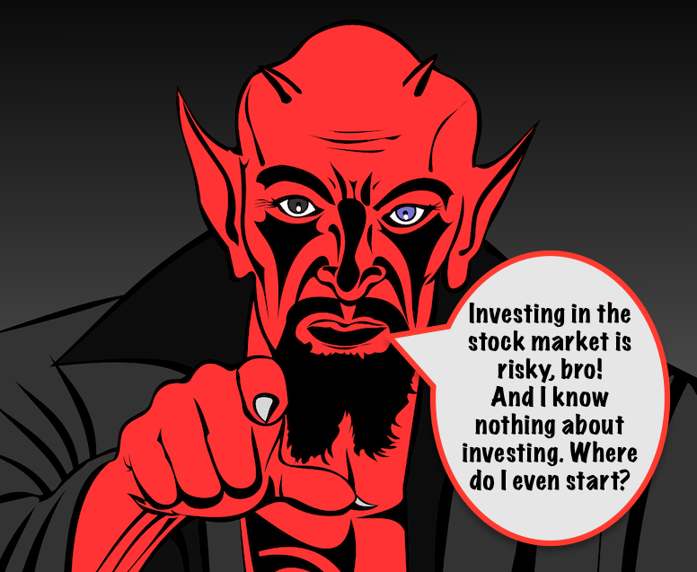 Investing in the stock market is risky