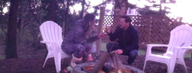 Mortgage Burning Champagne Toast