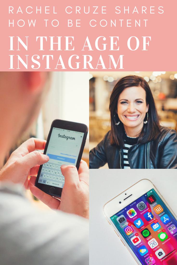 Rachel Cruze and Instagram photos