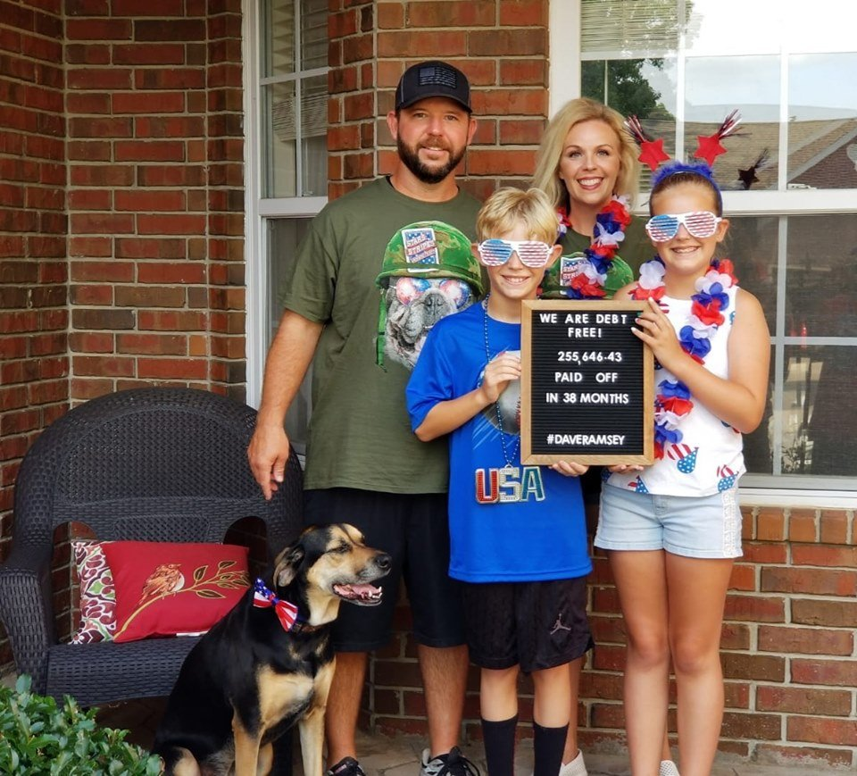 McCoy Family on 4th of July