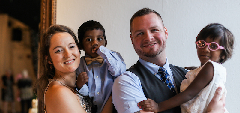 Kimberly Holmes Marriage Helper and her family